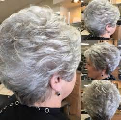 best hairstyles for grey hair picture 7