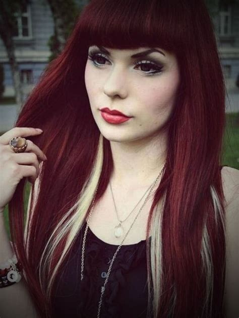 can dyed red hair go to brunette picture 8