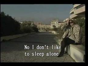 i dont like to sleep alone lyrics picture 1