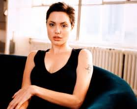 angelina jolie short hair pics picture 6