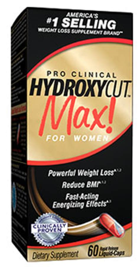 hydroxycut max women side effects instructions picture 4