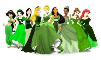 princess in green picture 1