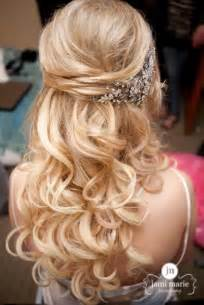 wedding hair half up half down formal picture 4