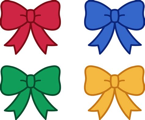free hair ribbon clip art picture 6