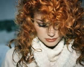 S curl red hair picture 10
