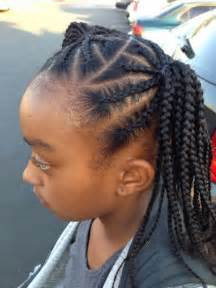 Black hair style for kids picture 15