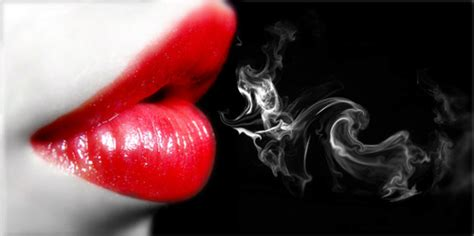 white lips by smoking picture 15