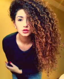curly long hair picture 17