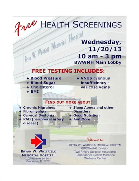 free health screenings in broward county 2013 picture 4