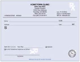 free prescription pads picture 3
