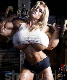 breast expansion and female muscle growth morphs picture 7