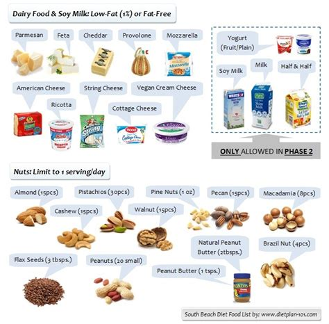 south beach diet phase 2 food list picture 4