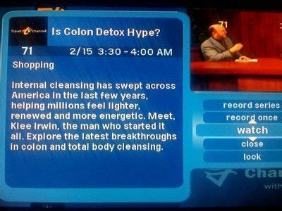 colon cleanse infomercial picture 11