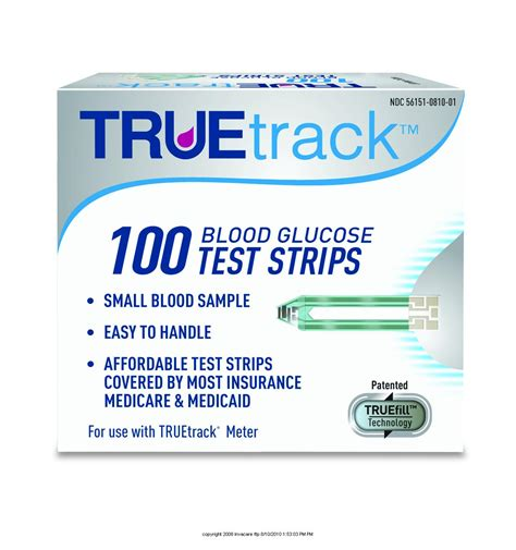 true track test strips for diabetics picture 1