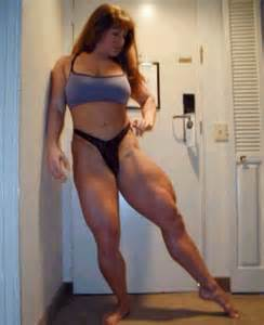 female muscle legs wrestling picture 10