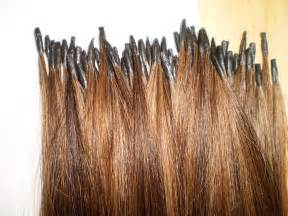 fused hair weaving picture 9