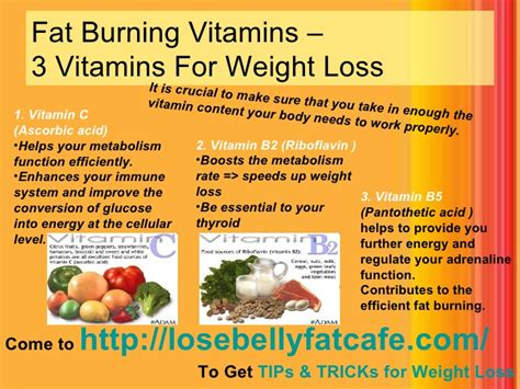 vitamins that assist in weight loss picture 1