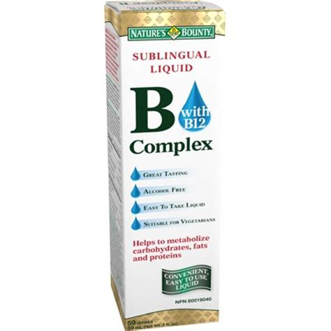 sublingual b complex vitamins and appe e picture 1