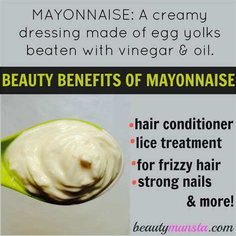 benefits on mayonnaise hair picture 1