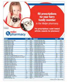 meijer prescription drug price list picture 1