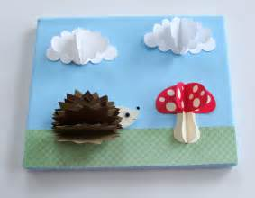 paper craft h 3d picture 6