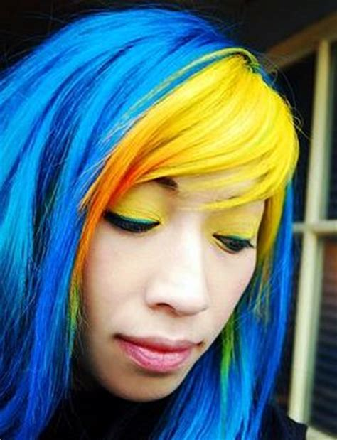 dye hair coloring picture 3