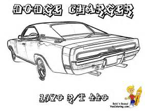 free printable muscle car art picture 7