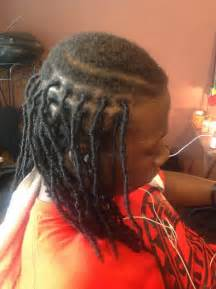 black hairstyles human hair checkerboard w barrels picture 2