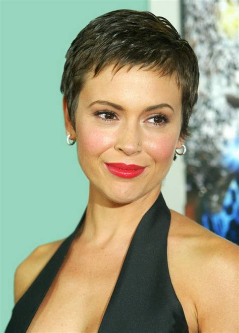 alyssa milano with short hair picture 3
