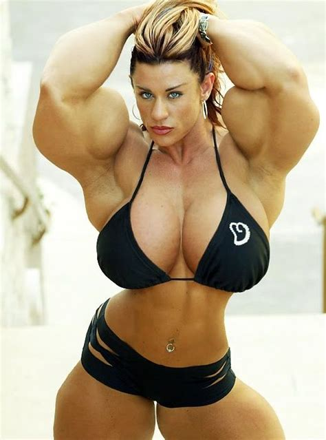 morphed muscle women picture 10