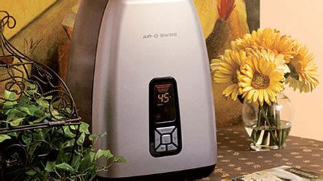 air o swiss 7133 warm mist anti microbial humidifier picture 2