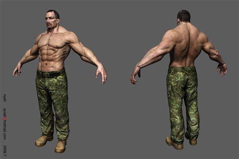 muscle men murphy fantasie 3d art picture 1