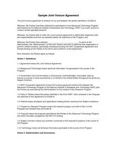joint venture agreements picture 18
