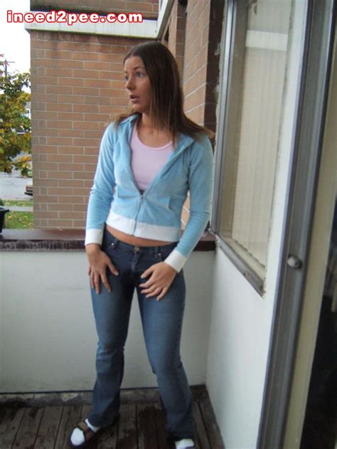 female desperation & pants wetting picture 1