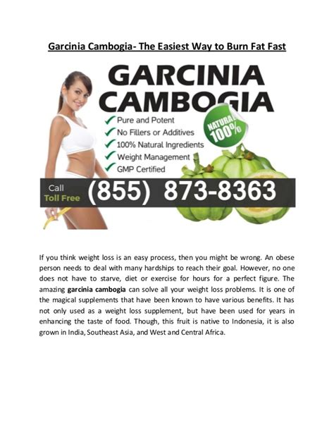 should you stop using garcina cambogia if you picture 13