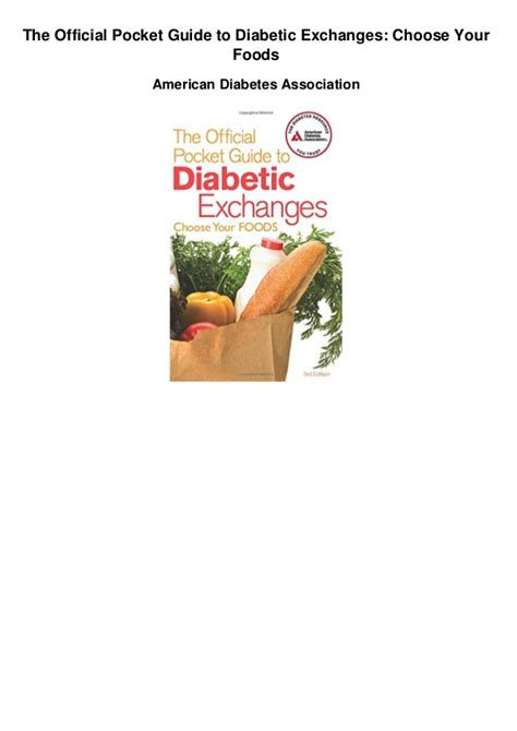 american diabetic food exchanges picture 3