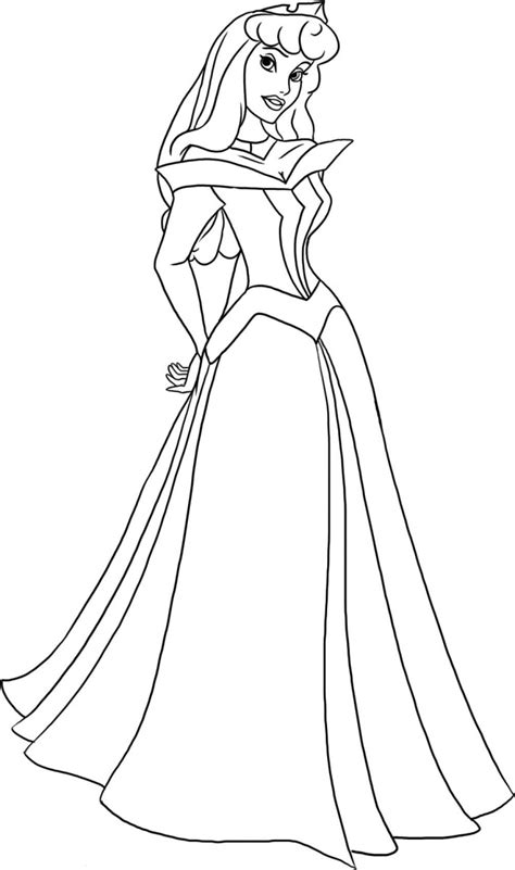 coloring pages disney princess sleeping beauty picture 2
