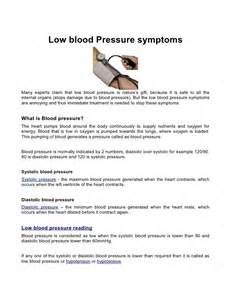low blood pressure symptoms and boils picture 1
