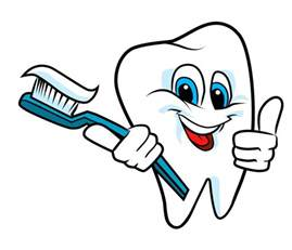 brushing teeth clipart picture 2