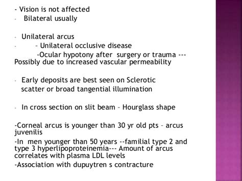 Ocular cholesterol deposits picture 7