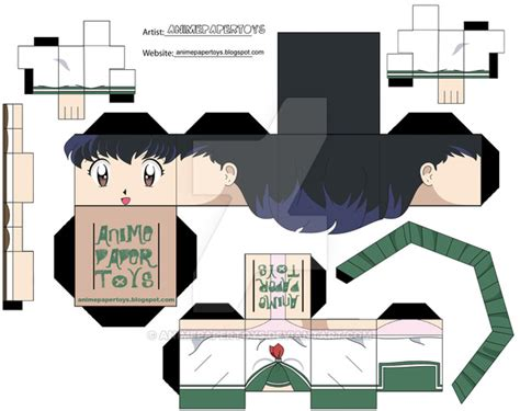 anime paper toys picture 2