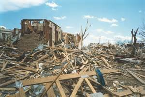 debris from a tornado picture 7