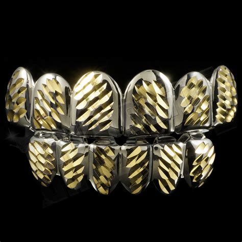 all cinds of teeth grizs gold and silver picture 13