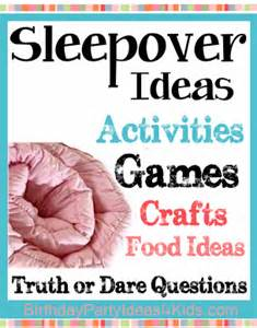 sleepover games and ideas picture 21