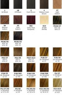 clariol hair color chart picture 17