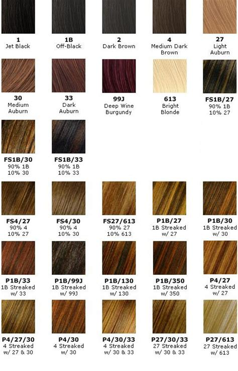 clarol hair chart picture 3