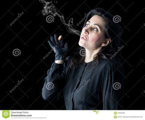 woman blowing smoke picture 17