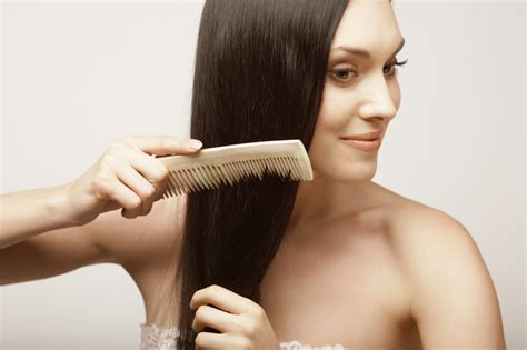 combing hair picture 5