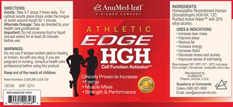anumed intl athletic edge hgh picture 2