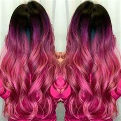 dark pink hair color picture 5